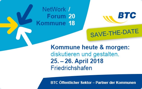 BTC NetWork Forum Kommune 2018